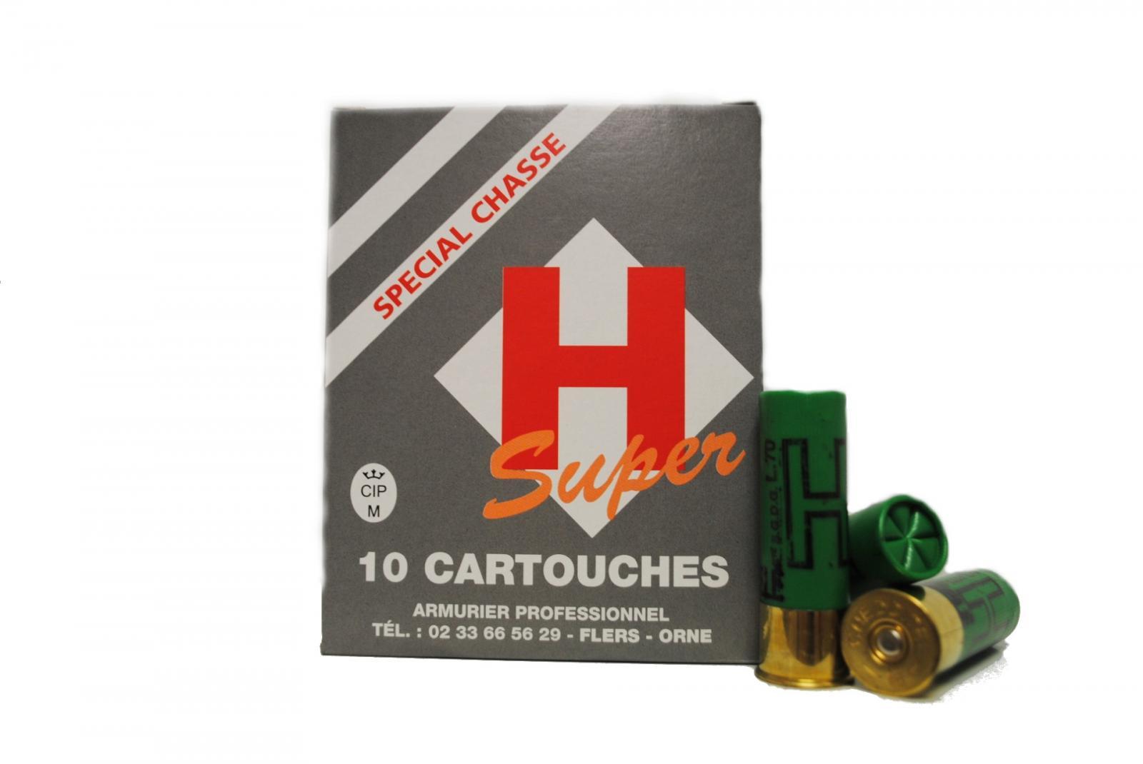Boite de 10 cartouches 16 / 70  grande puissance 32 grs SUPER L2