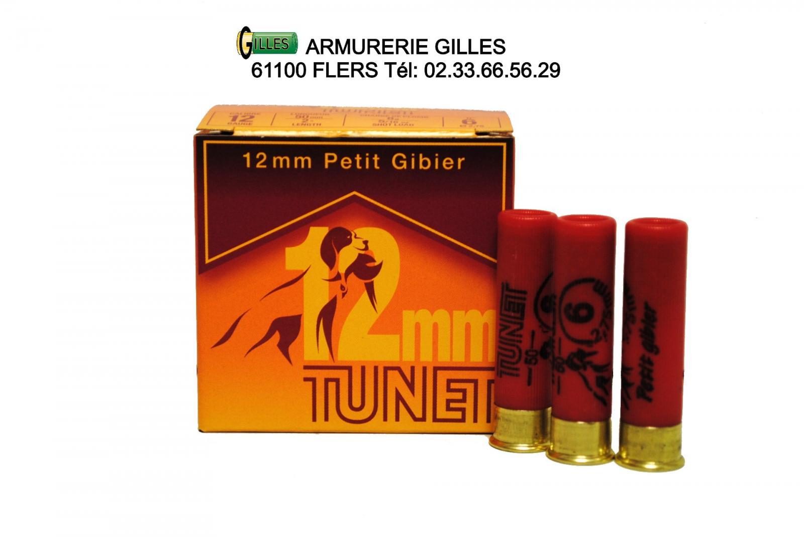 Boite de 25 cartouches calibre 12MM CA1