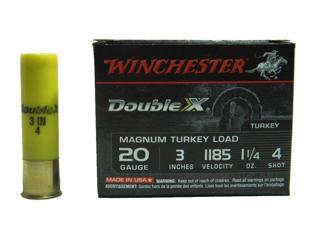 Boite de 10 cartouches calibre 20 / 76 MAGNUM SUPREME DOUBLE X X203XCT
