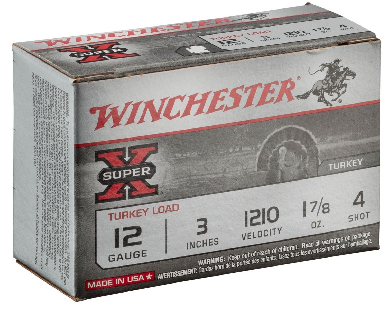 Boite de 10 cartouches calibre 12 / 76 MAGNUM DOUBLE X 53 grs X123MT