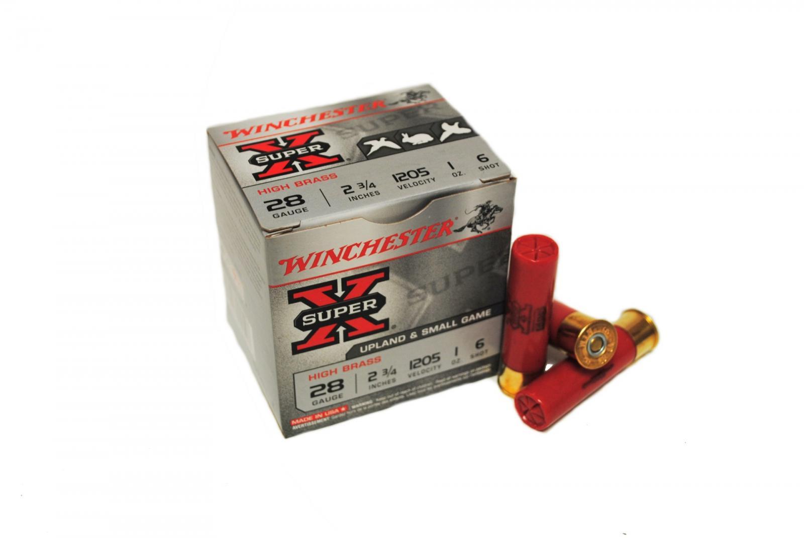 Boite de 25 cartouches calibre 28 / 70 SUPER-X X28