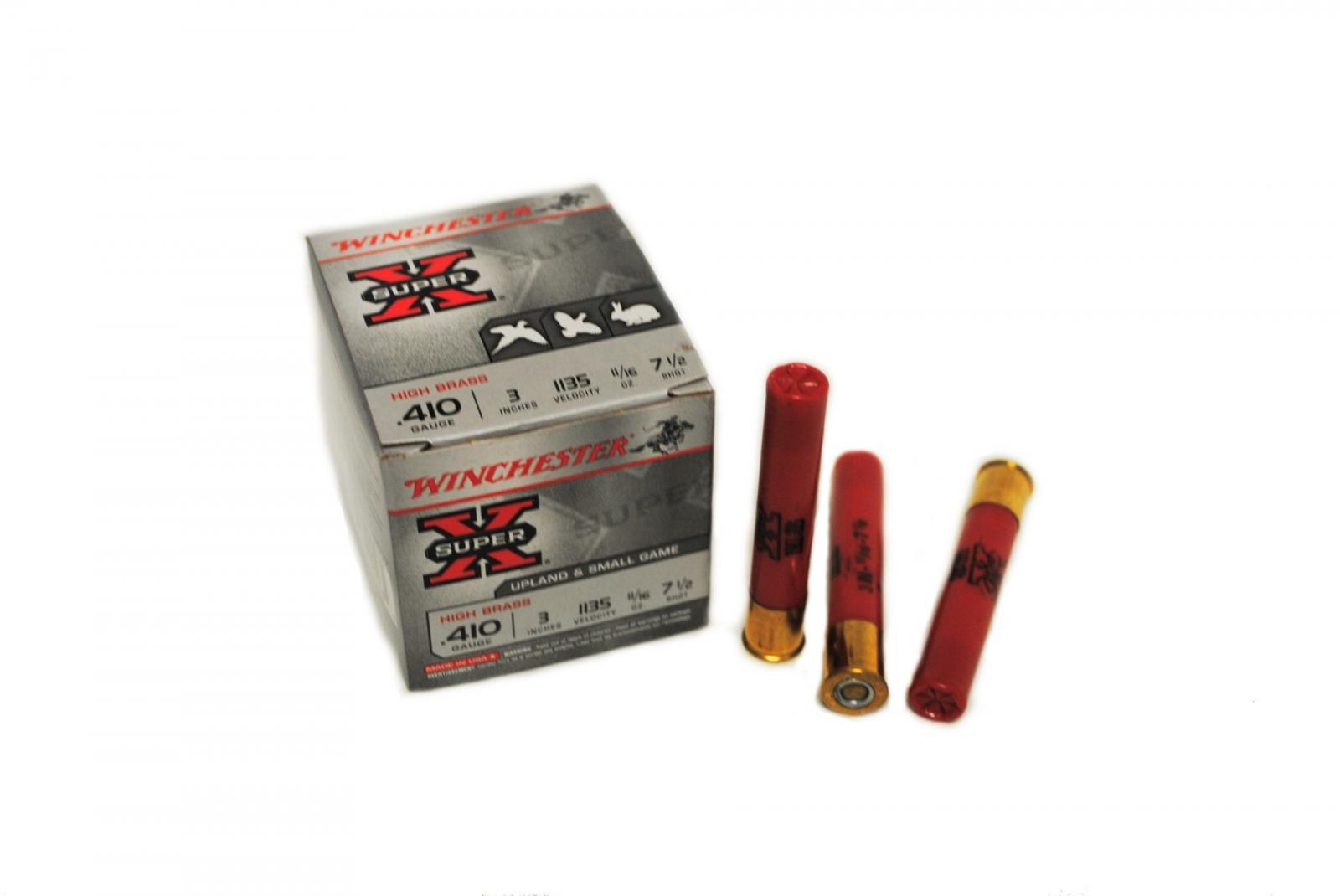 Boite de 25 cartouches calibre 410 Magnum X413