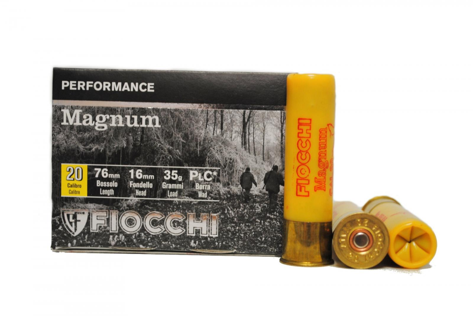 Boite de 10 cartouches calibre 20 Magnum FIO20M
