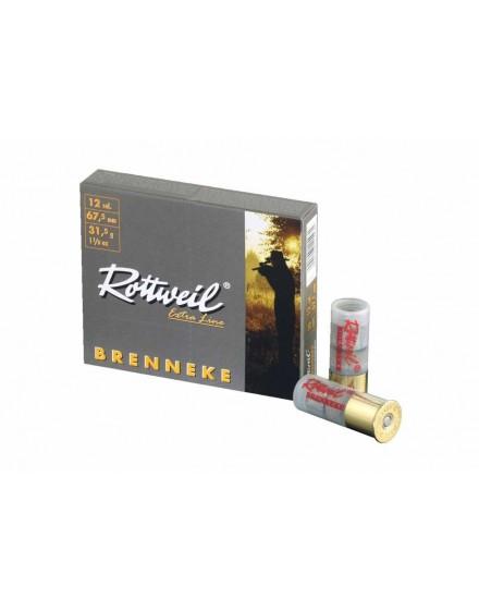 Boite de 10 balles ROTTWEIL calibre 12 / 67,5 RB1