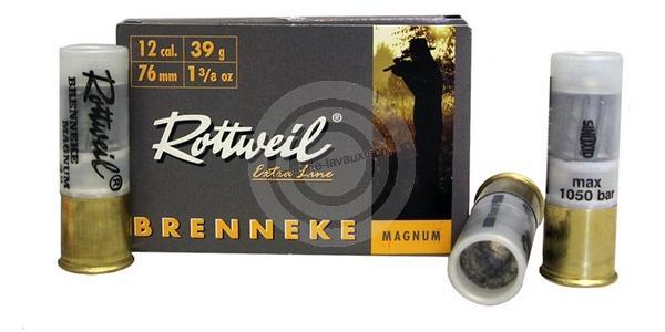 Boite de 5 balles ROTTWEIL calibre 12/76 RB3