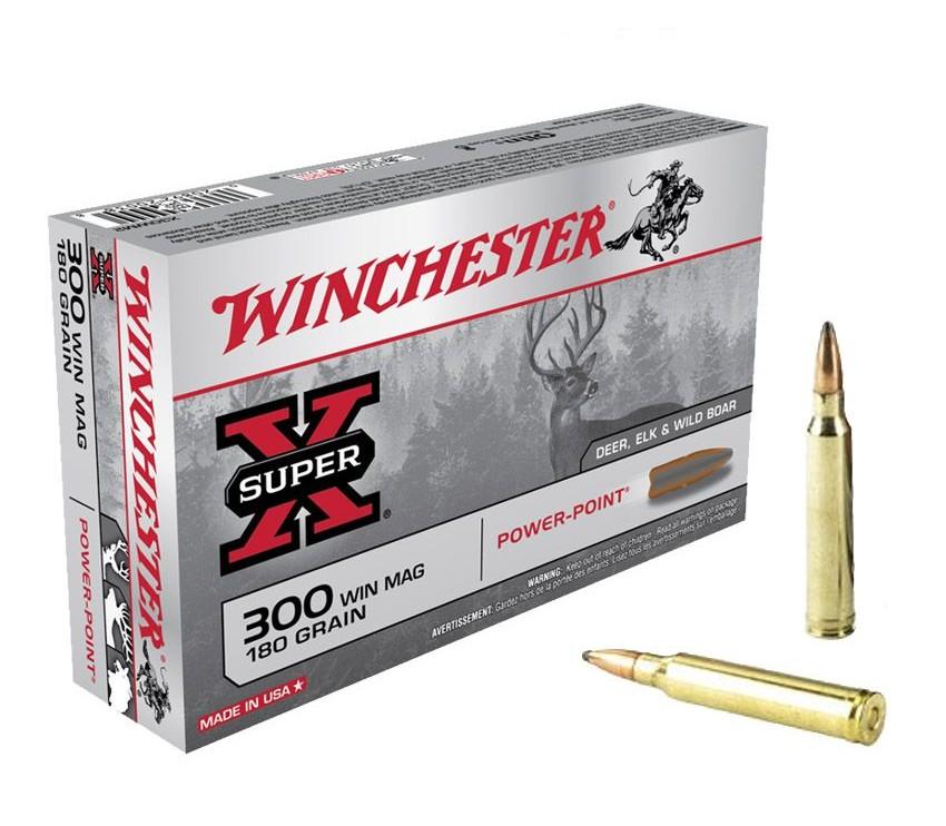 Boite de 20 cartouches WINCHESTER PPSP calibre 300 WMG X30WM2
