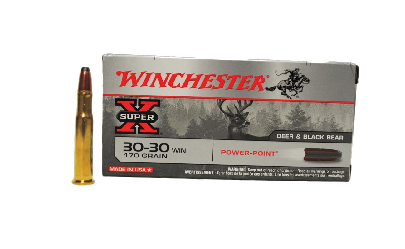 Boite de 20 cartouches WINCHESTER PPSP calibre 30-30