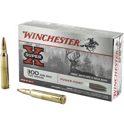 Boite de 20 cartouches WINCHESTER PPSP calibre 300 WMG X30WM1