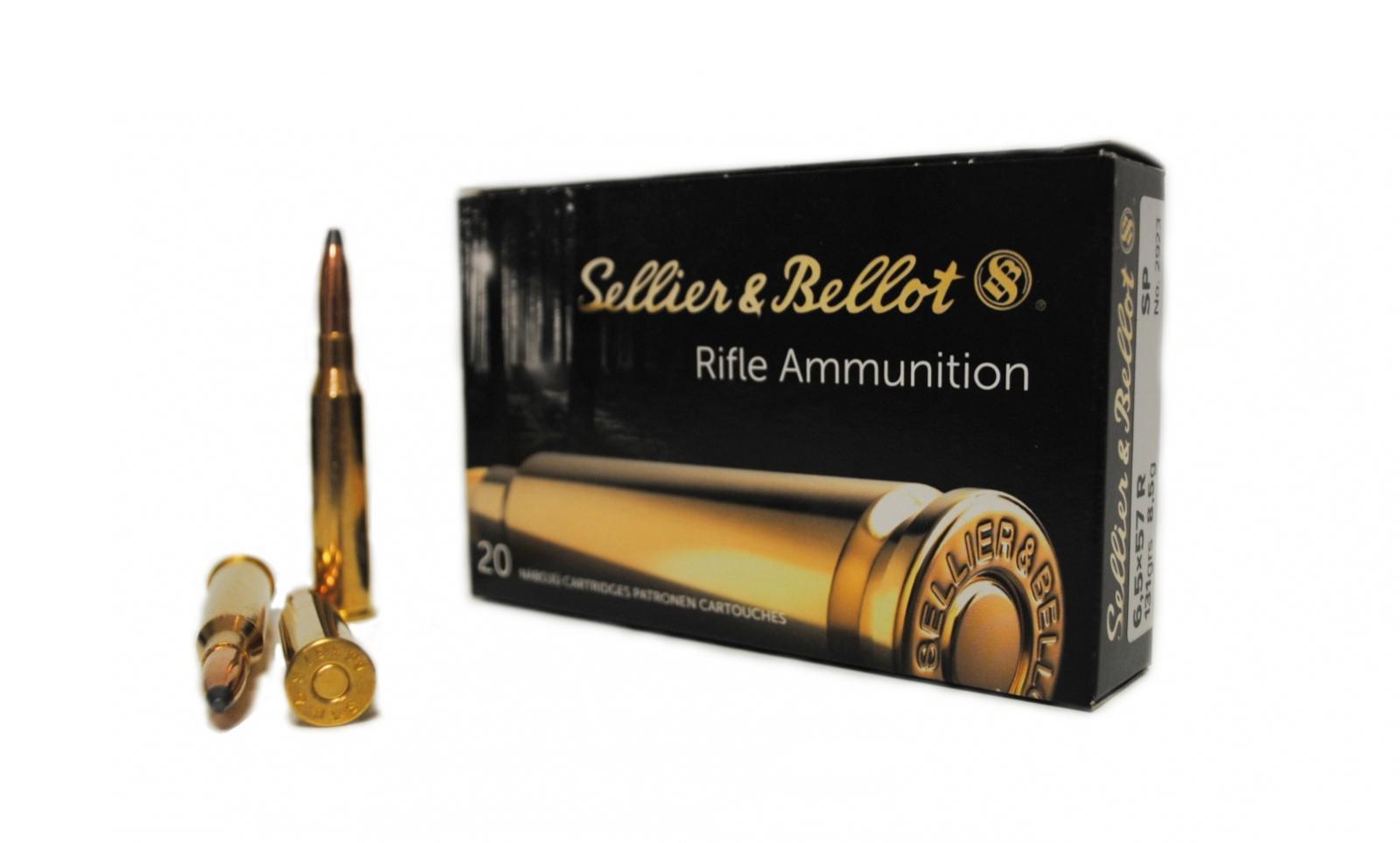 Boite de 20 cartouches calibre 6.5 x 57R  SELLIER BELLOT