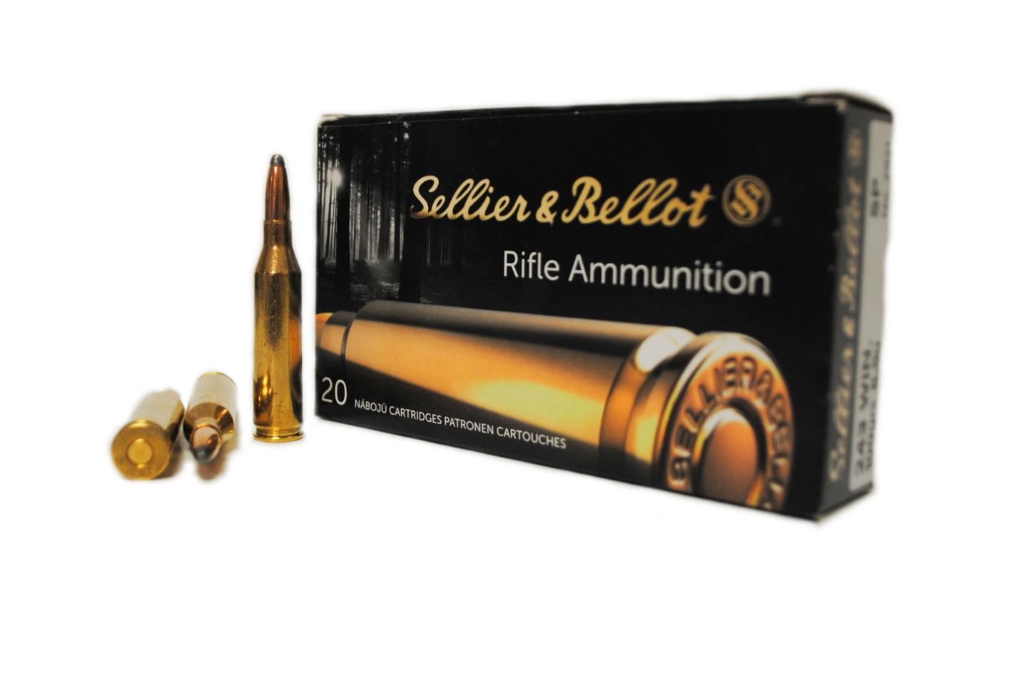 Boite de 20 cartouches calibre 243  SELLIER BELLOT SB243