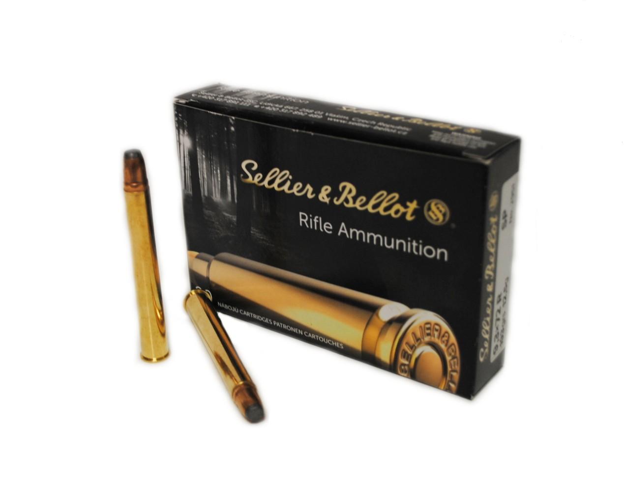 Boite de 20 cartouches SELLIER BELLOT calibre 9.3 x 72R