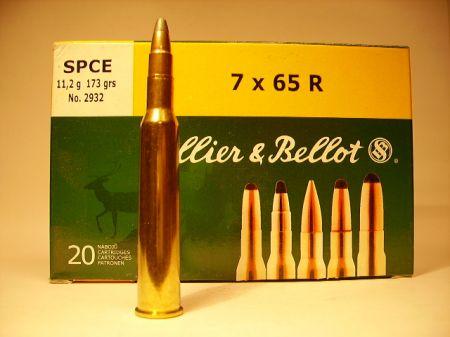 Boite de 20 cartouches SELLIER BELLOT calibre 7 x 65R
