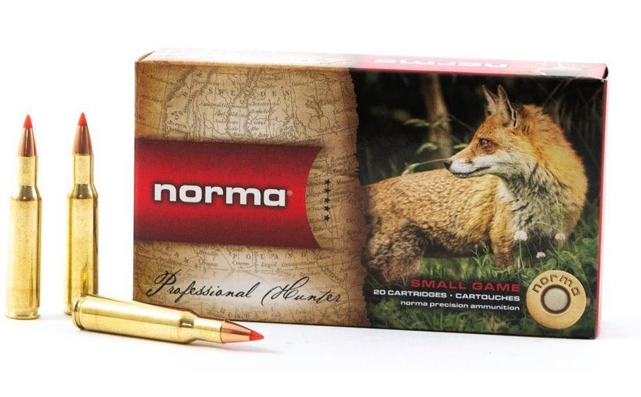 Boite de 20 cartouches calibre 222  NORMA N15711