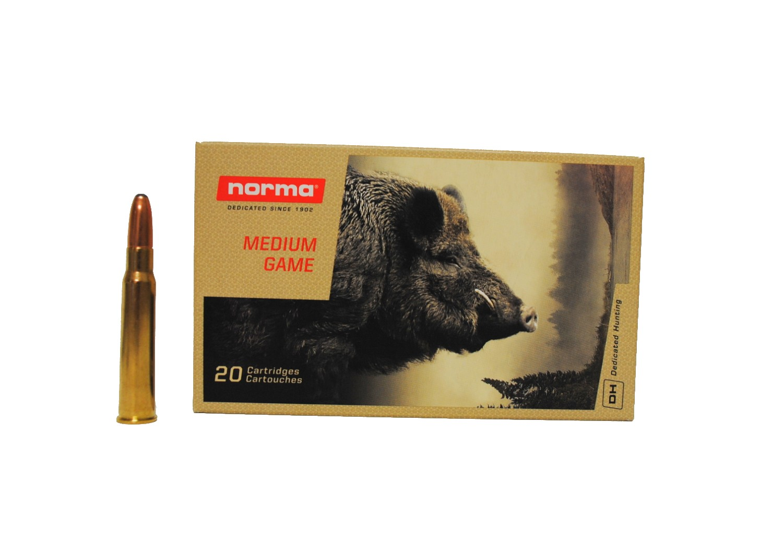 Boite de 20 cartouches NORMA Alaska calibre 8 x 57 JRS N18018