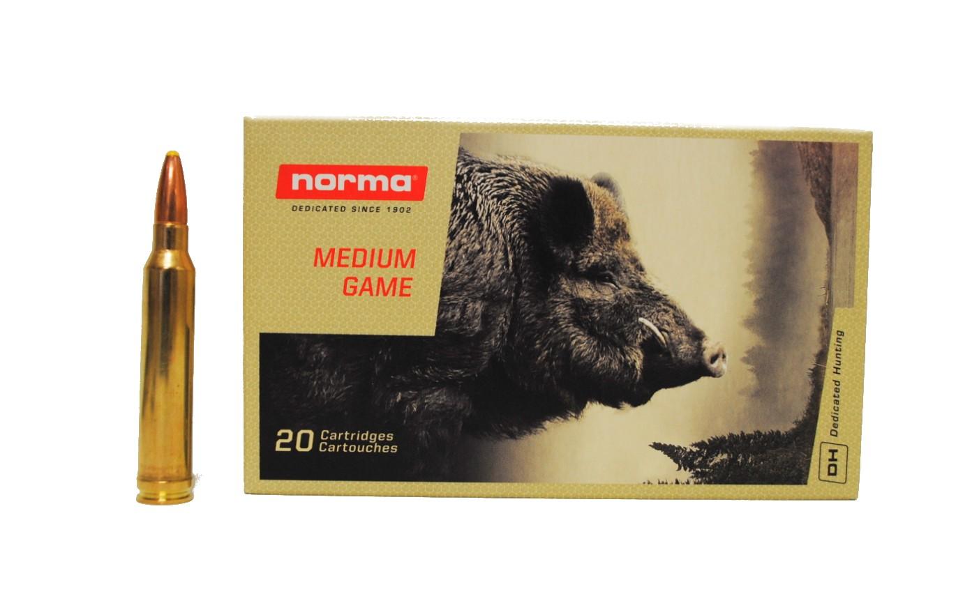 Boite de 20 cartouches NORMA Dual Core calibre 300 WMG N17687