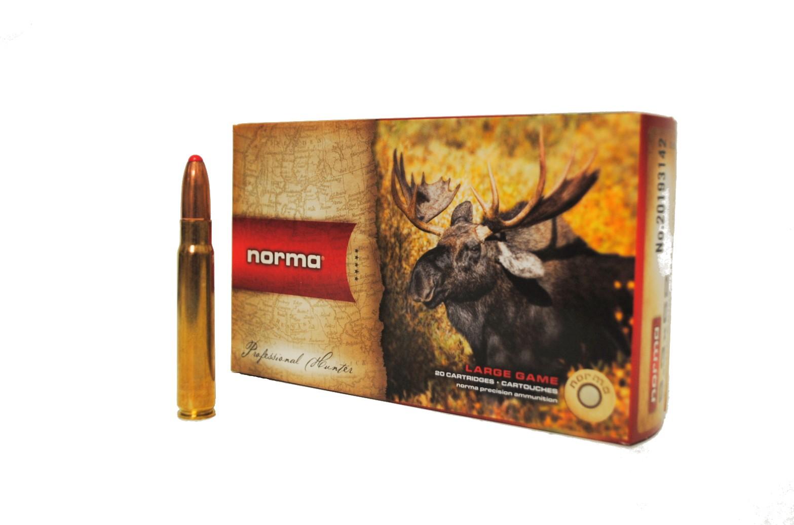 Boite de 20 cartouches NORMA Dual Core calibre 9.3 x 62   N19314