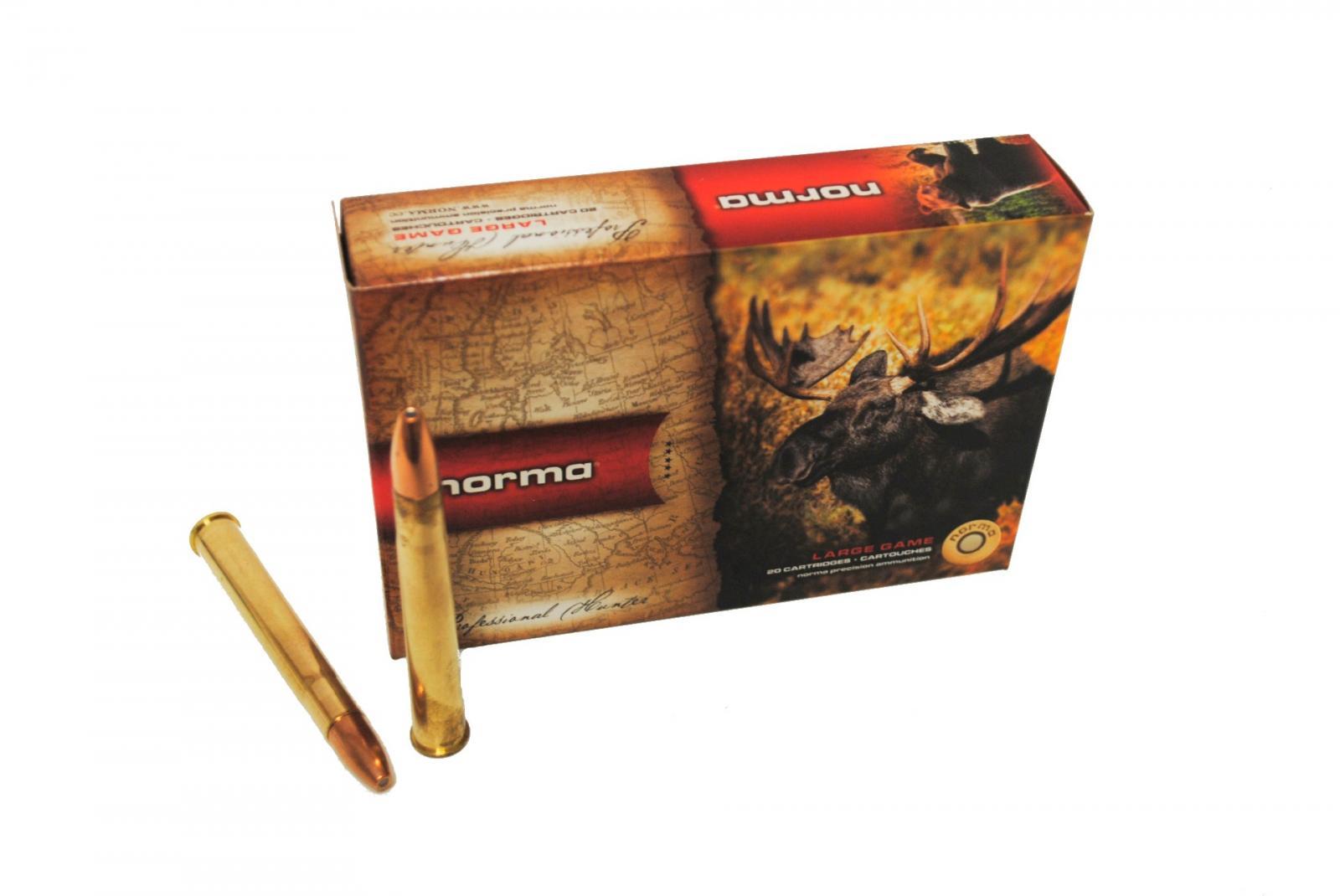 Boite de 20 cartouches NORMA Vulkan calibre 9.3 x 74R N19321