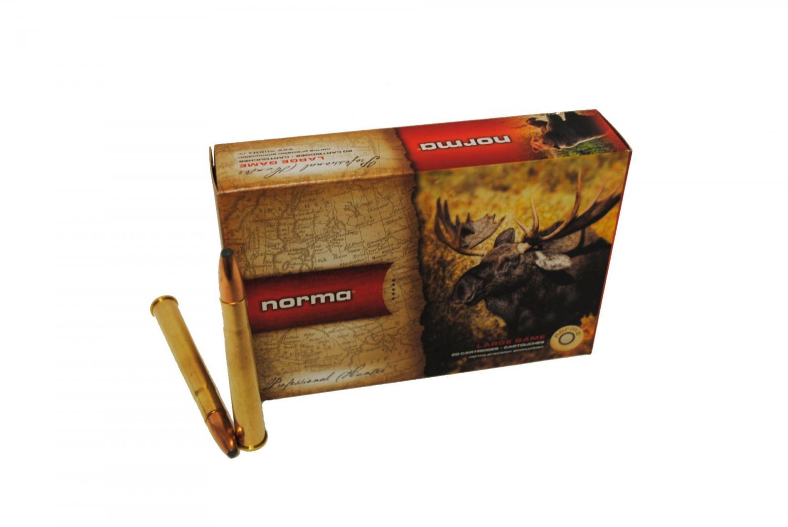 Boite de 20 cartouches NORMA Oryx calibre 9.3 x 74R N19332
