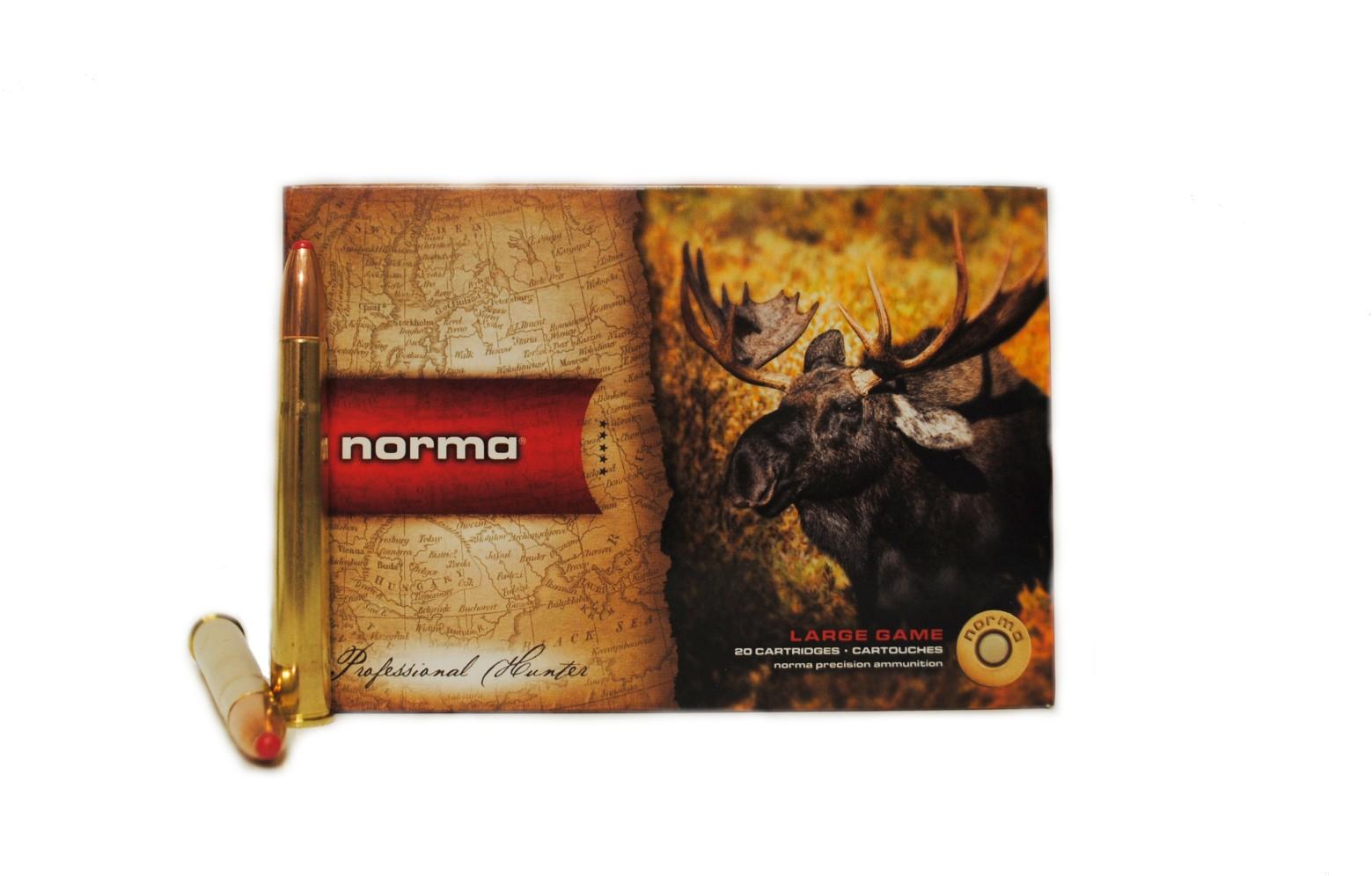 Boite de 20 cartouches NORMA Dual Core calibre 9.3 x 74R N19325