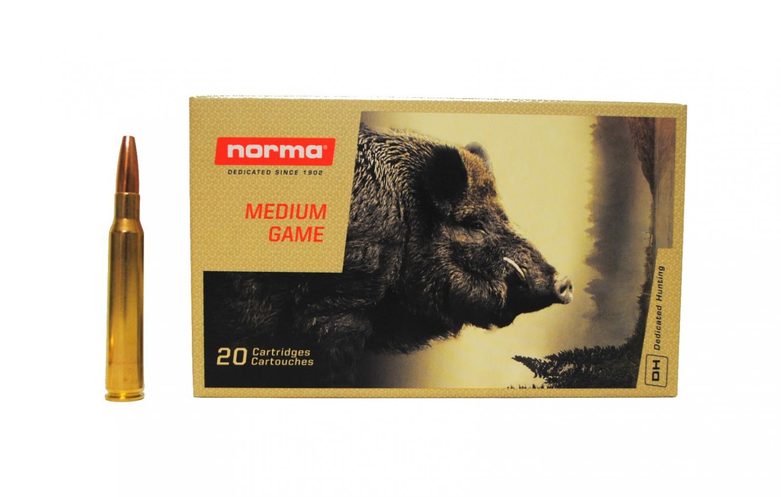 Boite de 20 cartouches  NORMA Vulkan calibre 7 x 64 N17018