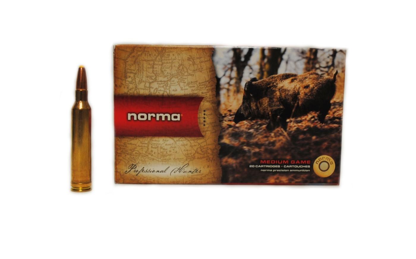 Boite de 20 cartouches NORMA Dual Core calibre 7 RM  N17027