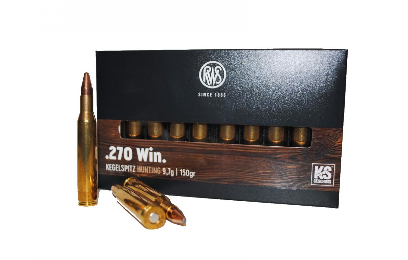 Boite de 20 cartouches calibre 270 RWS KS R2117282