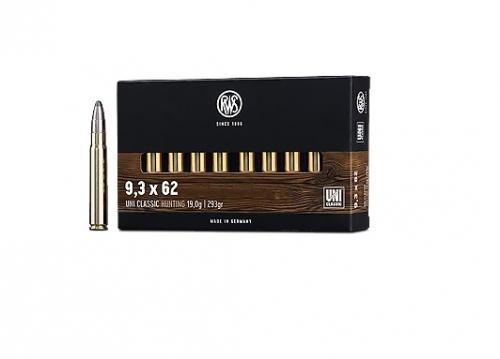 Boite de 20 cartouches RWS UNI calibre 9.3 x 62  R2119242
