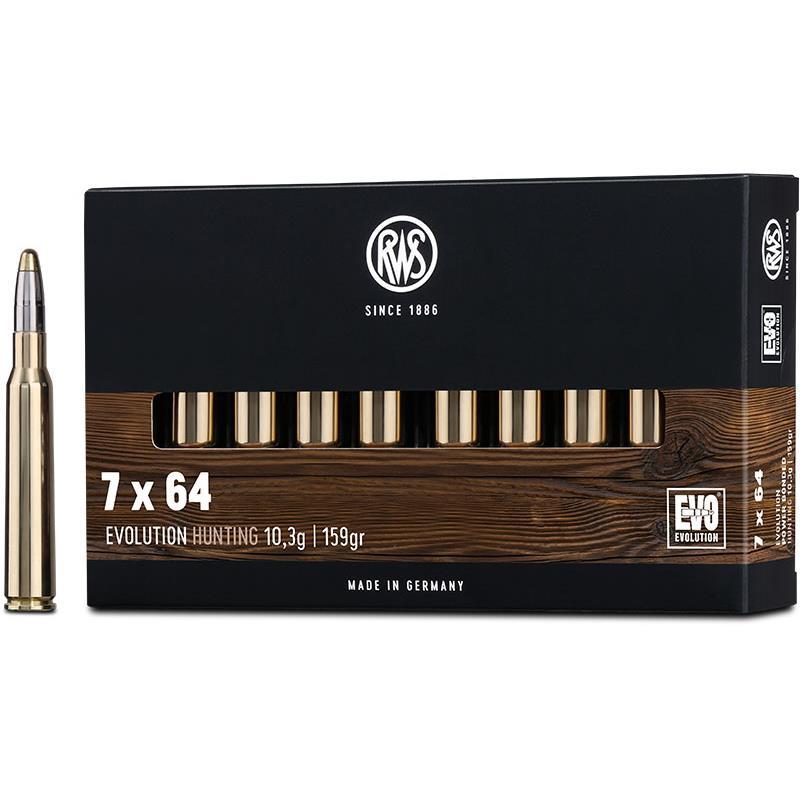 Boite de 20 cartouches RWS EVO calibre 7 x 64 R2315431