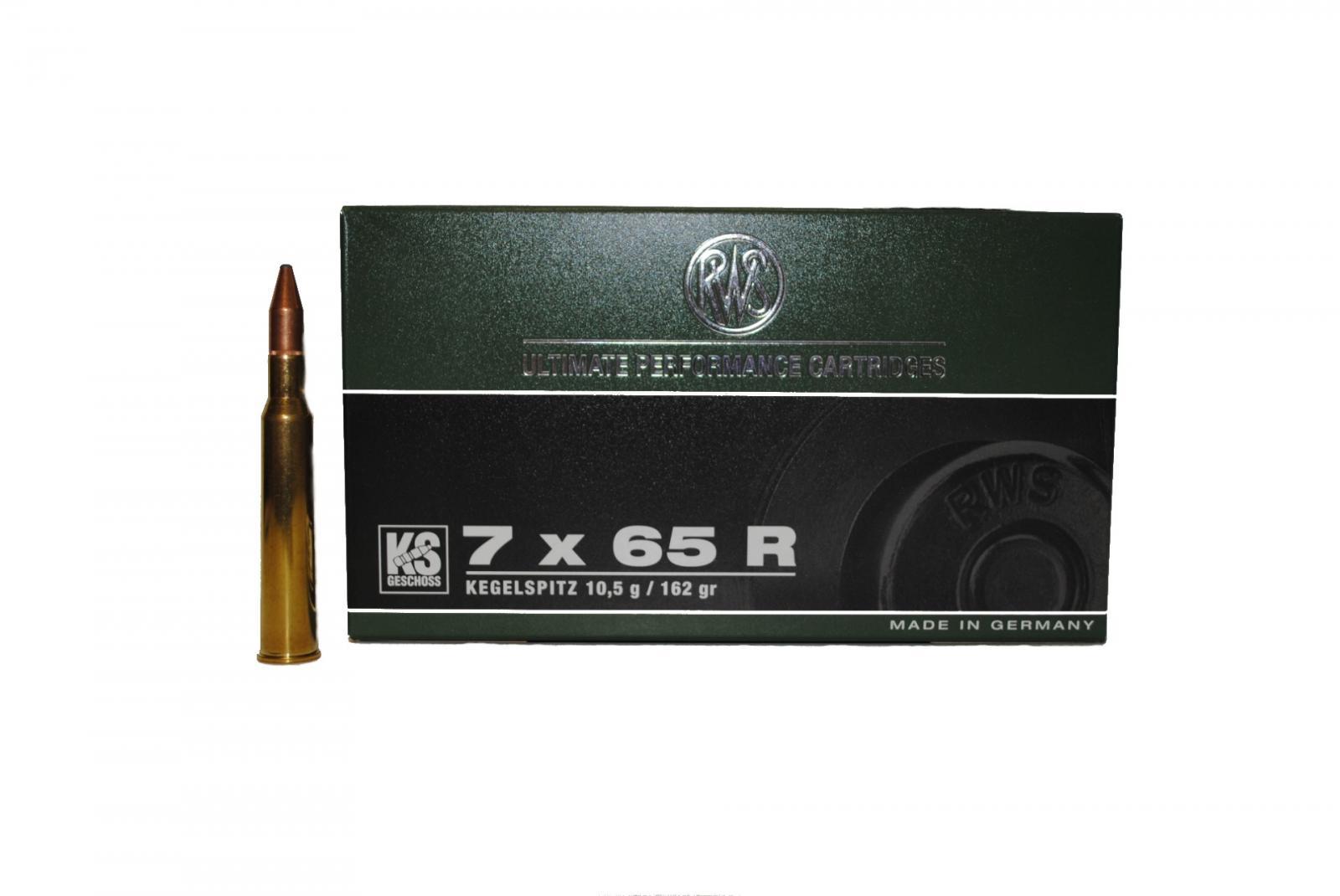 Boite de 20 cartouches RWS KS 162 GRS calibre 7 x 65R  R2118483