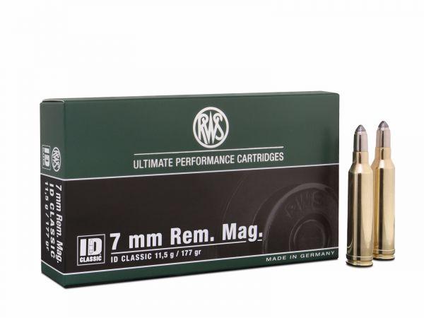Boite de 20 cartouches RWS ID calibre 7 RM  R2118491