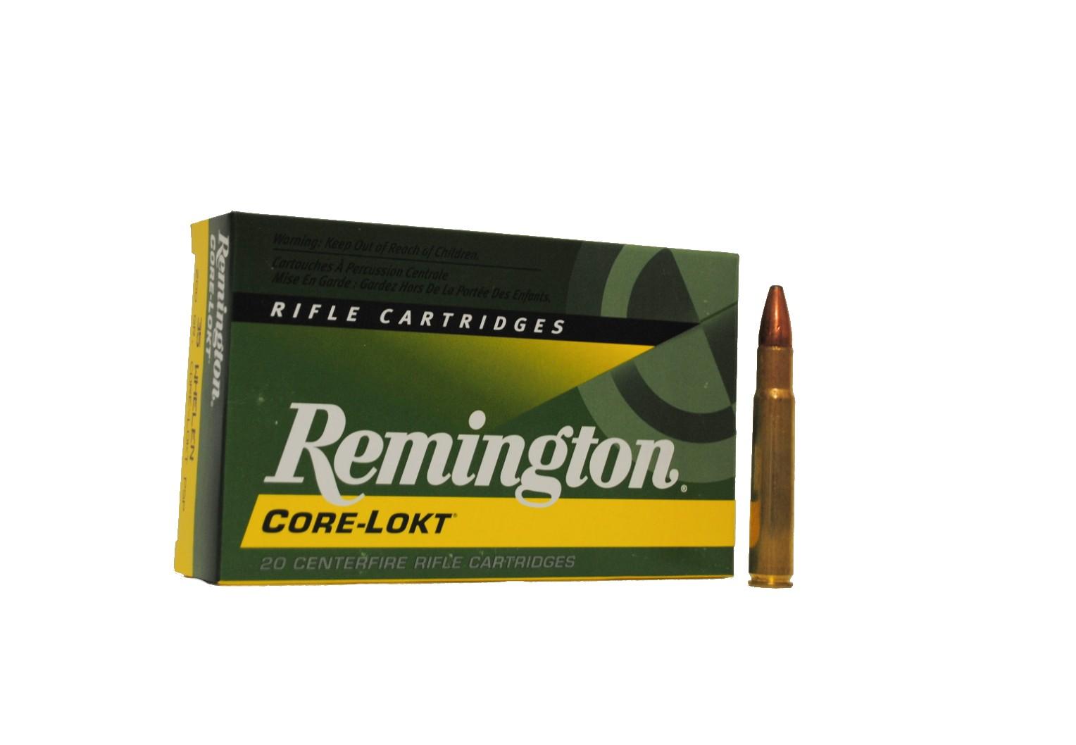 Boite de 20 cartouches REMINGTON calibre 35 WHELEN 200 grs