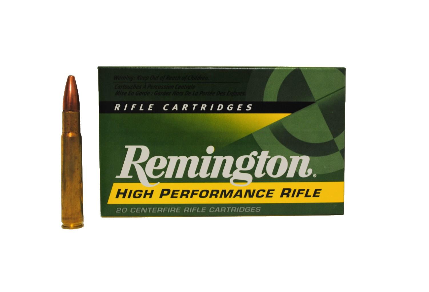 Boite de 20 cartouches REMINGTON  calibre 35 WEHLEN 250 grs R35WH3
