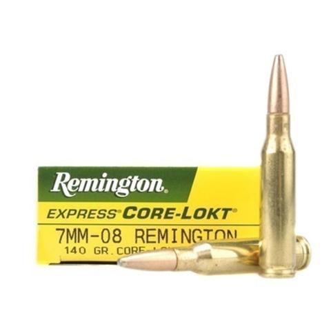 Boite de 20 cartouches calibre 7 mm 08  REMINGTON R7M081