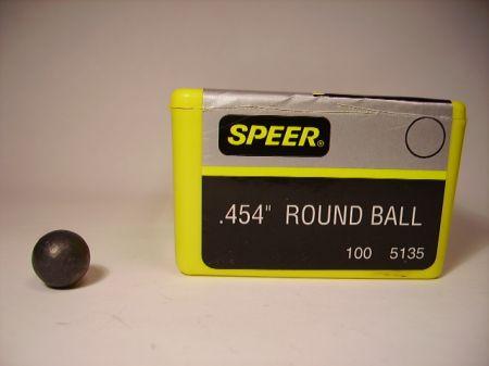 Boite de 100 balles SPEER calibre 44/454