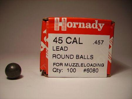 Boite de 100 balles HORNADY calibre  44/457