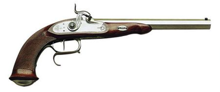 Pistolet PEDERSOLI LEPAGE à percussion calibre 44 DPS32544