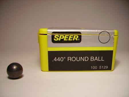 Boite de 100 balles SPEER calibre 44/440