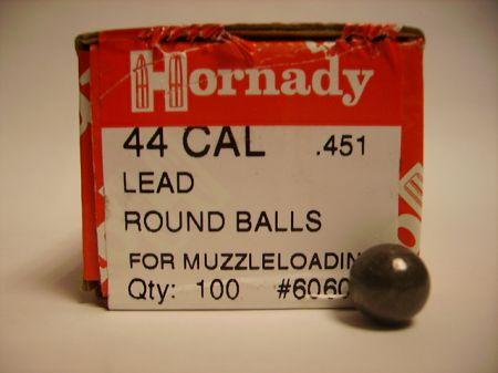 Boite de 100 balles HORNADY calibre  44/451