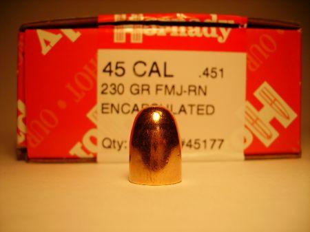 Cal 45 FMJ RN 230 grs H45177