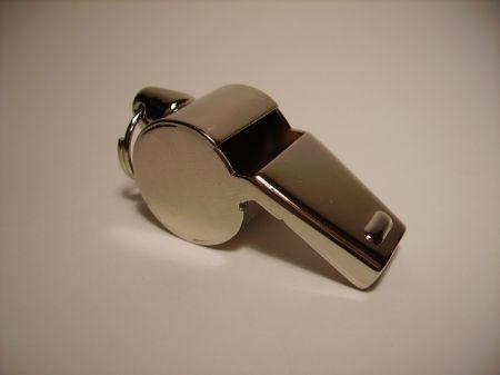 Sifflet de police chromé JAN32010