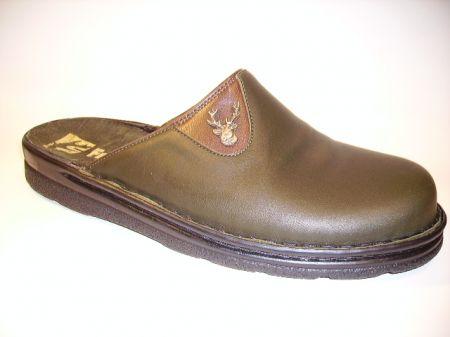 Chaussons en cuir FRITZMANN FRI28250