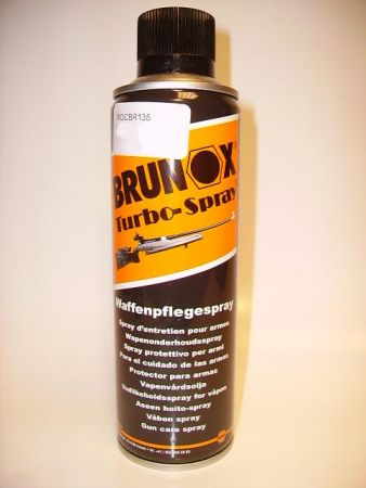 Huile pour armes BRUNOX TURBO en spray ROCBR135