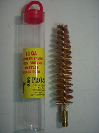 Brosse de nettoyage calibre 12 pour chambre et choke PRO12C