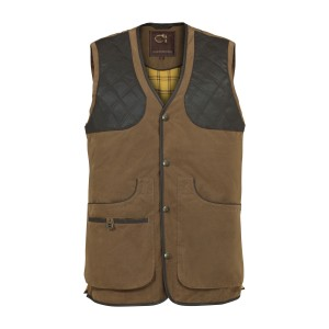 Gilet  Club Interchasse CEVRUS tabac