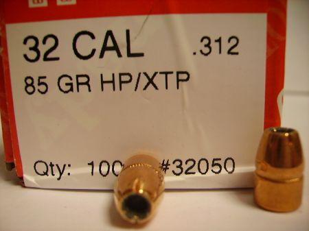 Cal 32 XTP HP 85 grs H32050