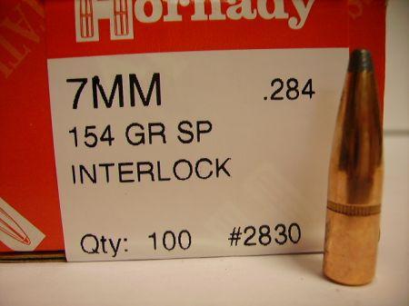 Cal 7mm SP 154 grs H2830