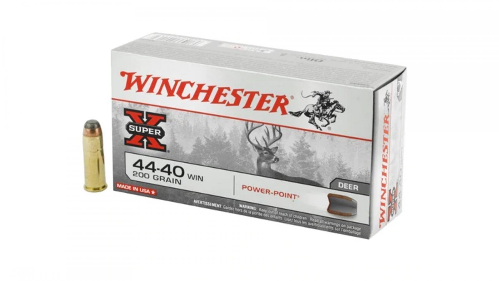 Boite de 50 cartouches WINCHESTER calibre 44/40  X4440