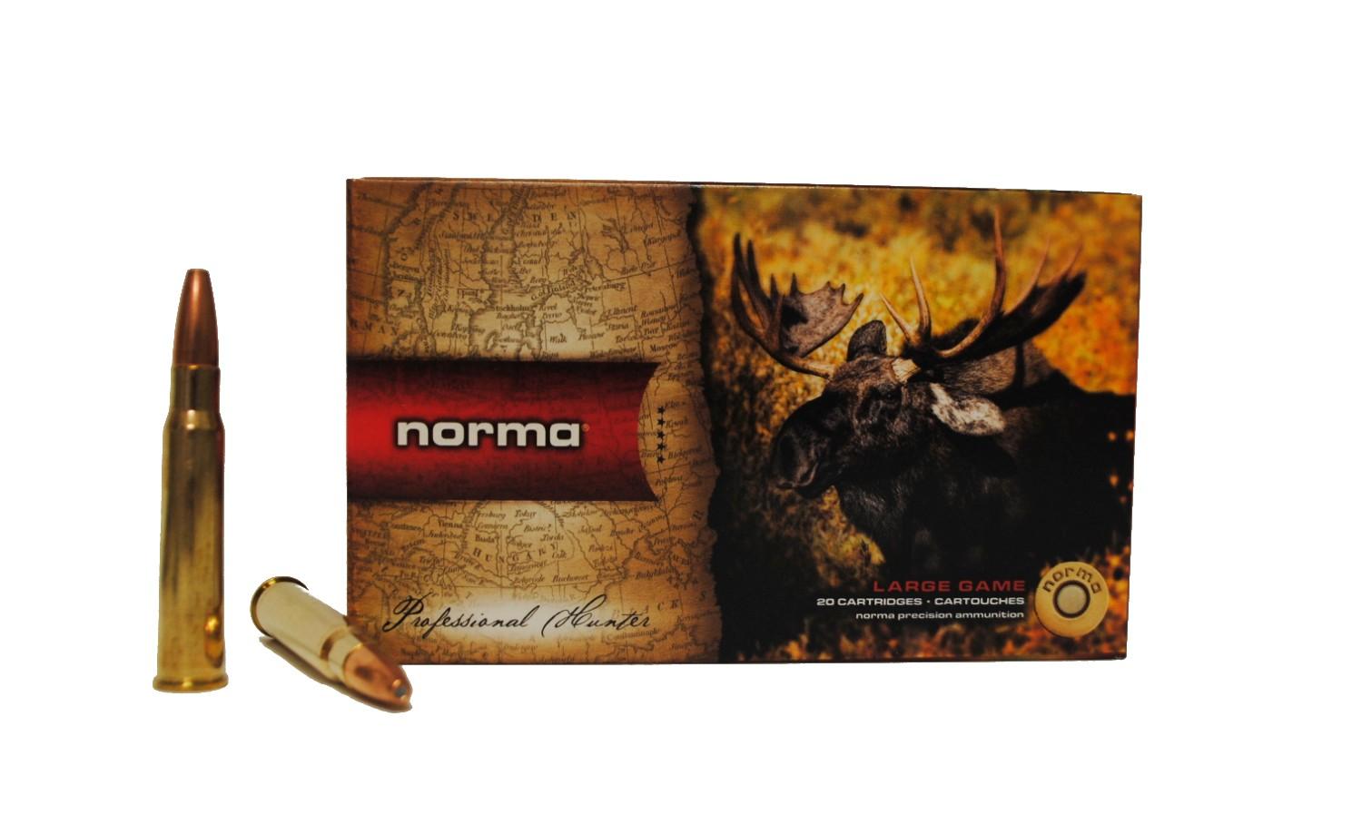 Boite de 20 cartouches NORMA VULKAN calibre 8 x 57 JRS N18019