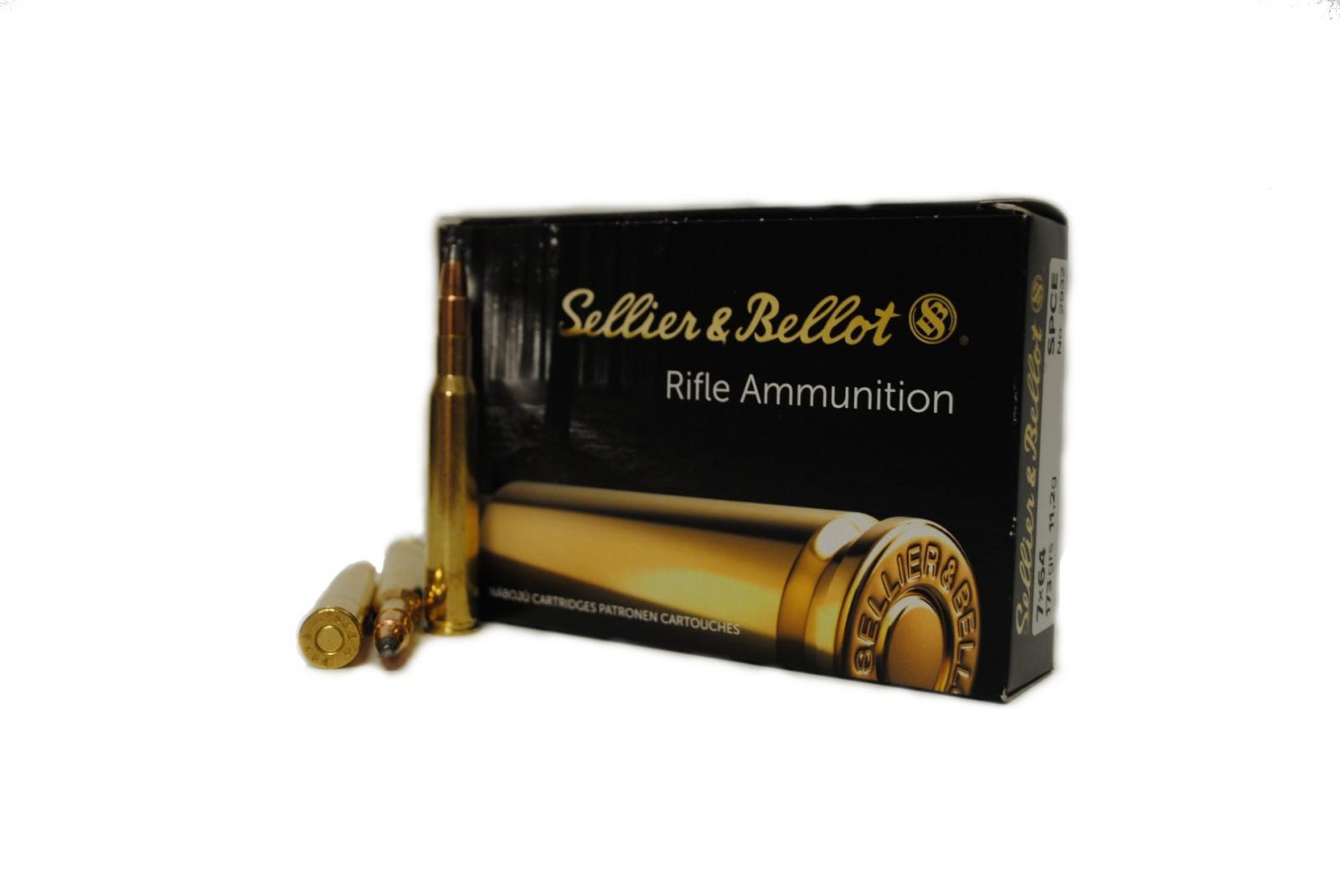 Boite de 20 cartouches SELLIER-BELLOT calibre 7 x 64  SB7642