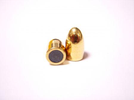 ogives 9mm (.355) FMJ blindées 123 grs